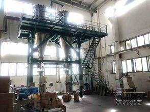 powder mixing production